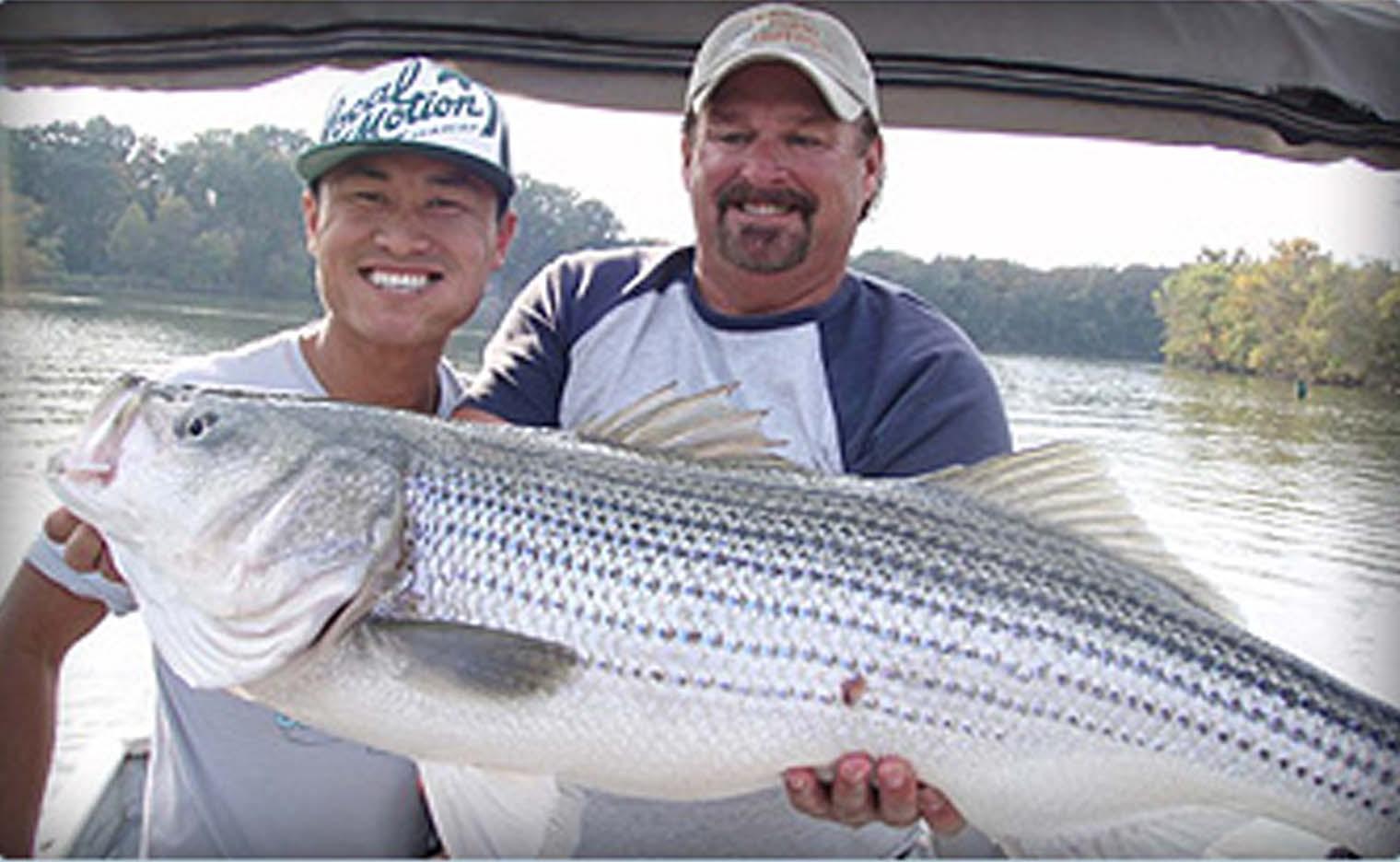 Plan a fun fishing vacation in nashville tn nashville for Lake cumberland striper fishing report