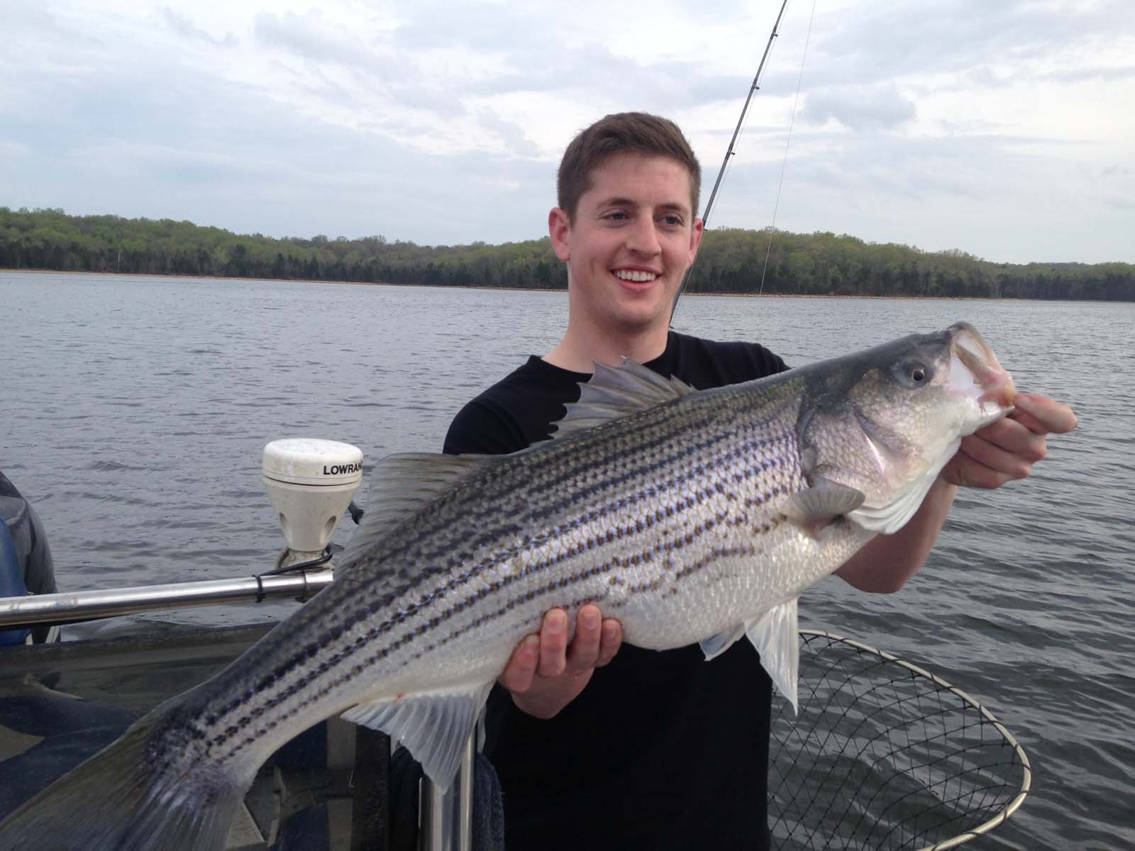 Fishing charters excursions nashville tn nashville for Tims ford lake fishing report