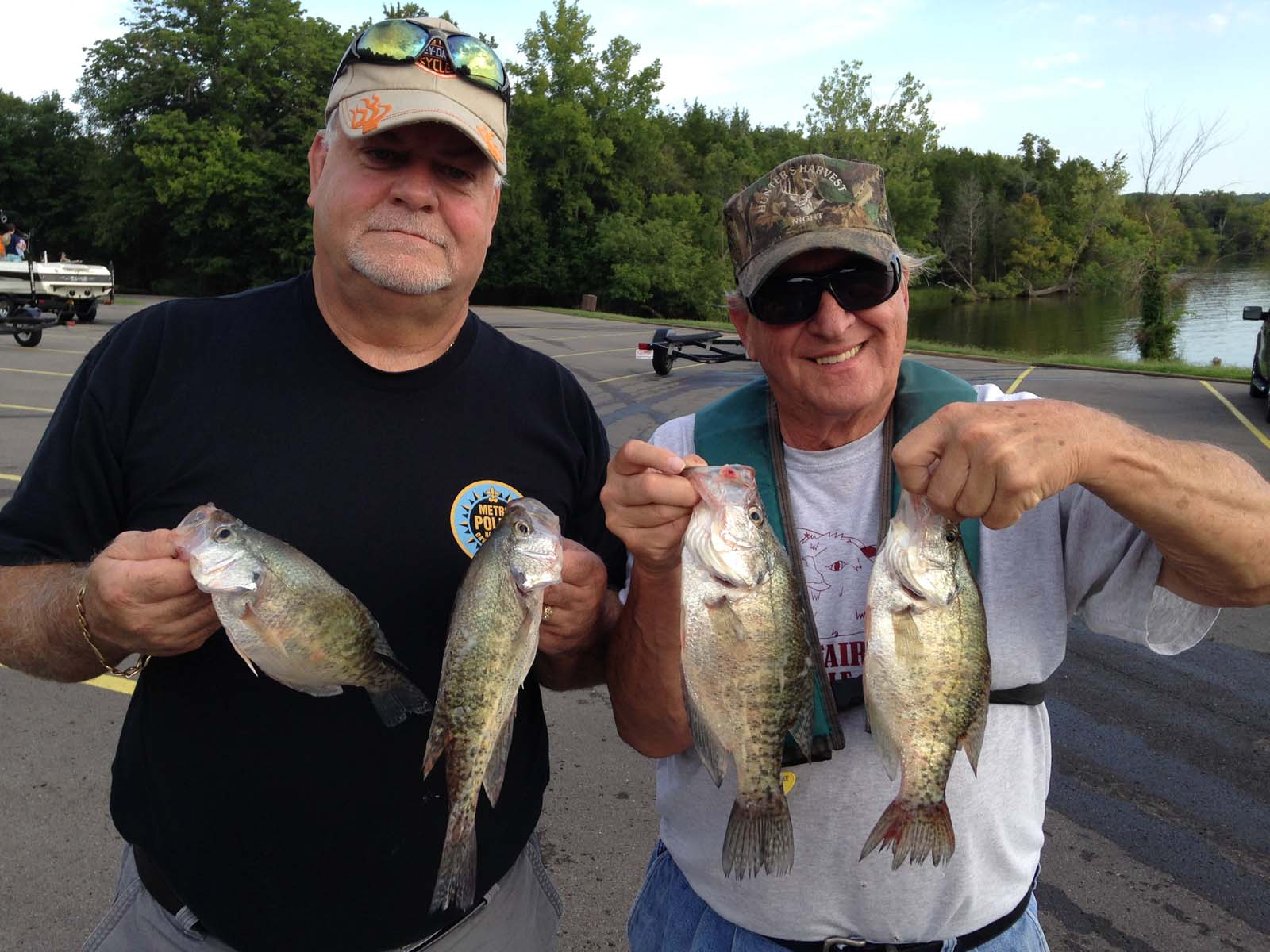 Nashville tn crappie fishing with billy flatt for Best crappie fishing times