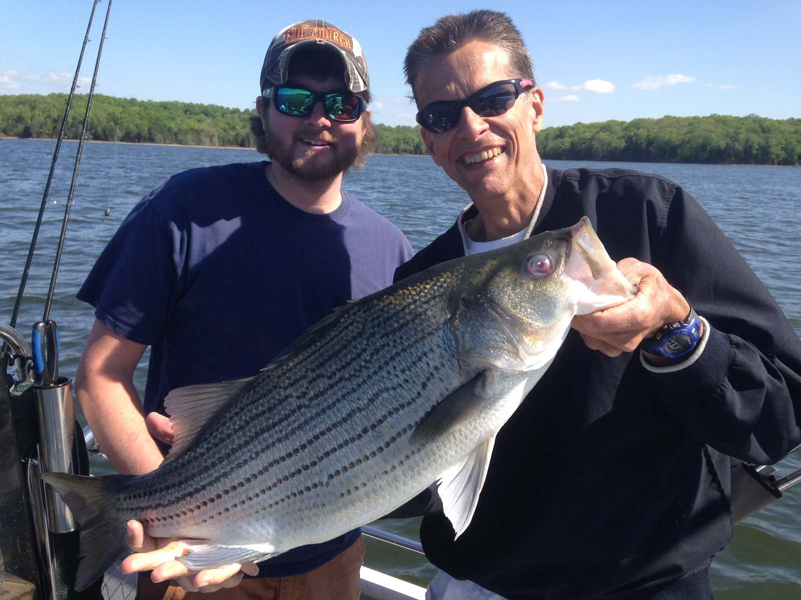 Nashville group fishing trips 2 nashville fishing charters for Tims ford lake fishing report