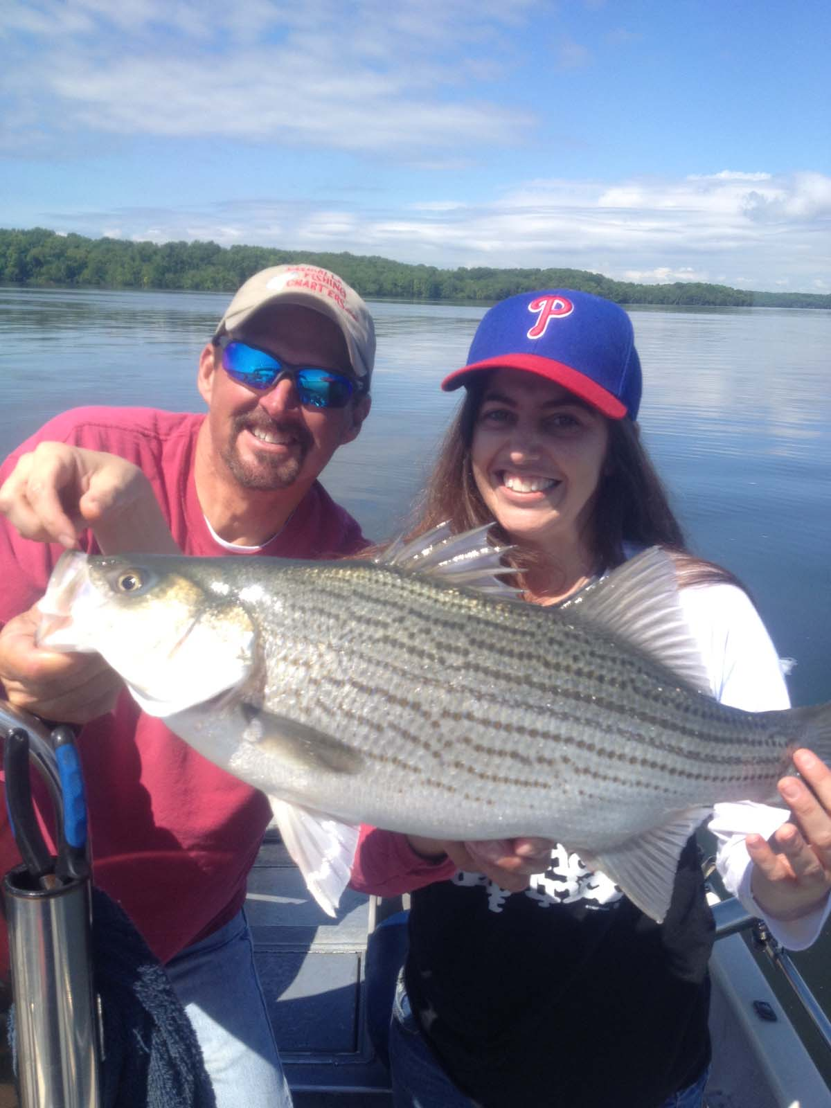 Percy priest lake nashville tn striper fishing with for Best fishing days