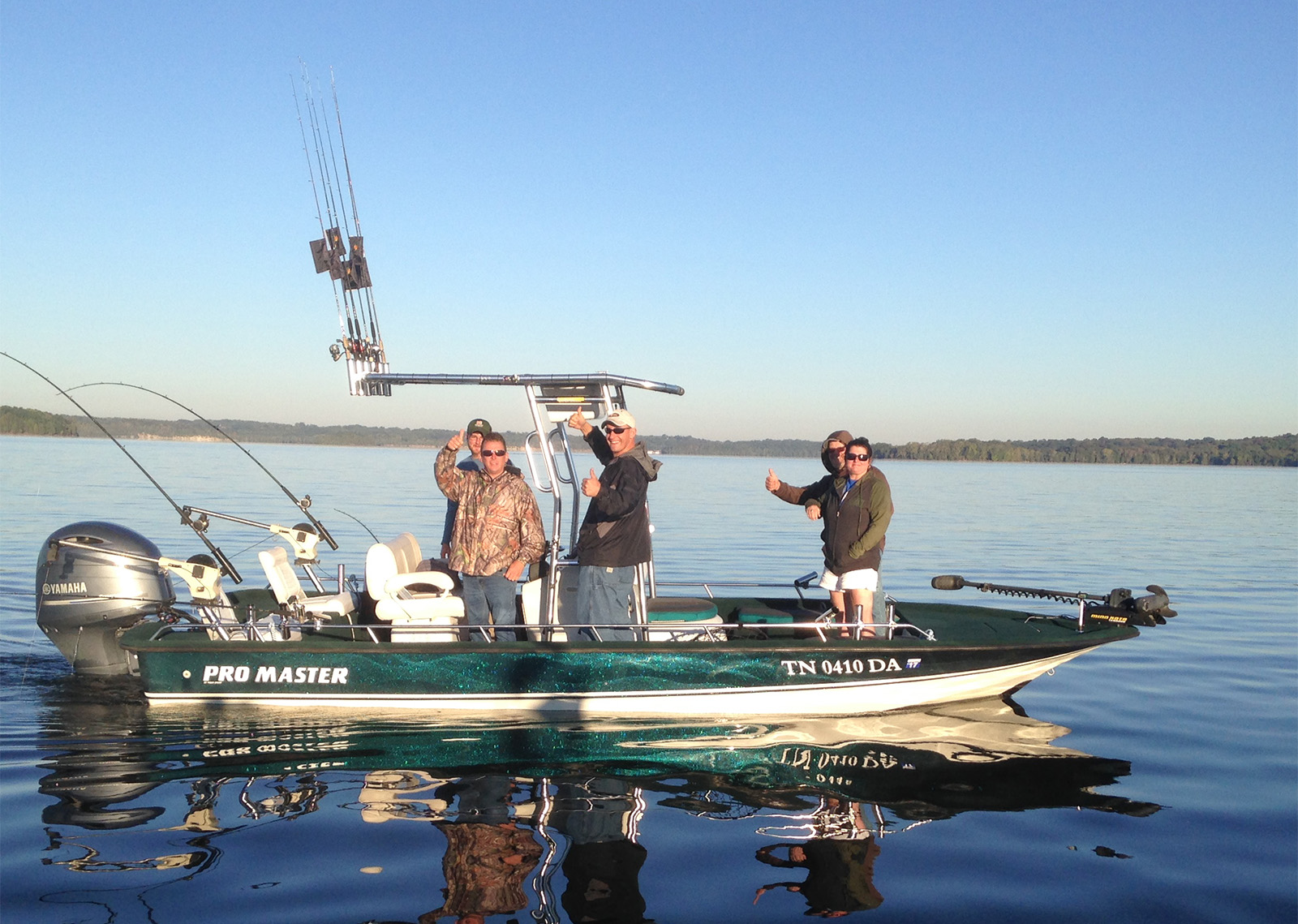Nashville fishing charter boats nashville fishing charters for Charter fishing trip